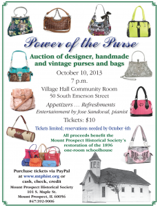 Power of the Purse Flyer
